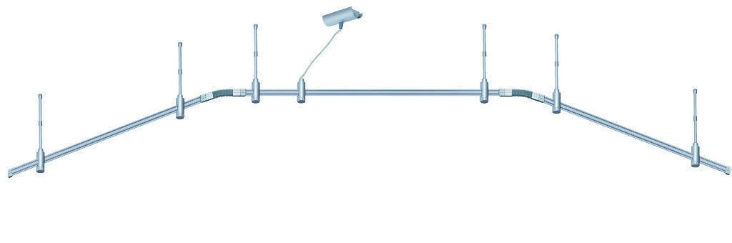paulmann phantom schienensystem barelli glas 6x50w 230v gz10 titan opal ebay. Black Bedroom Furniture Sets. Home Design Ideas