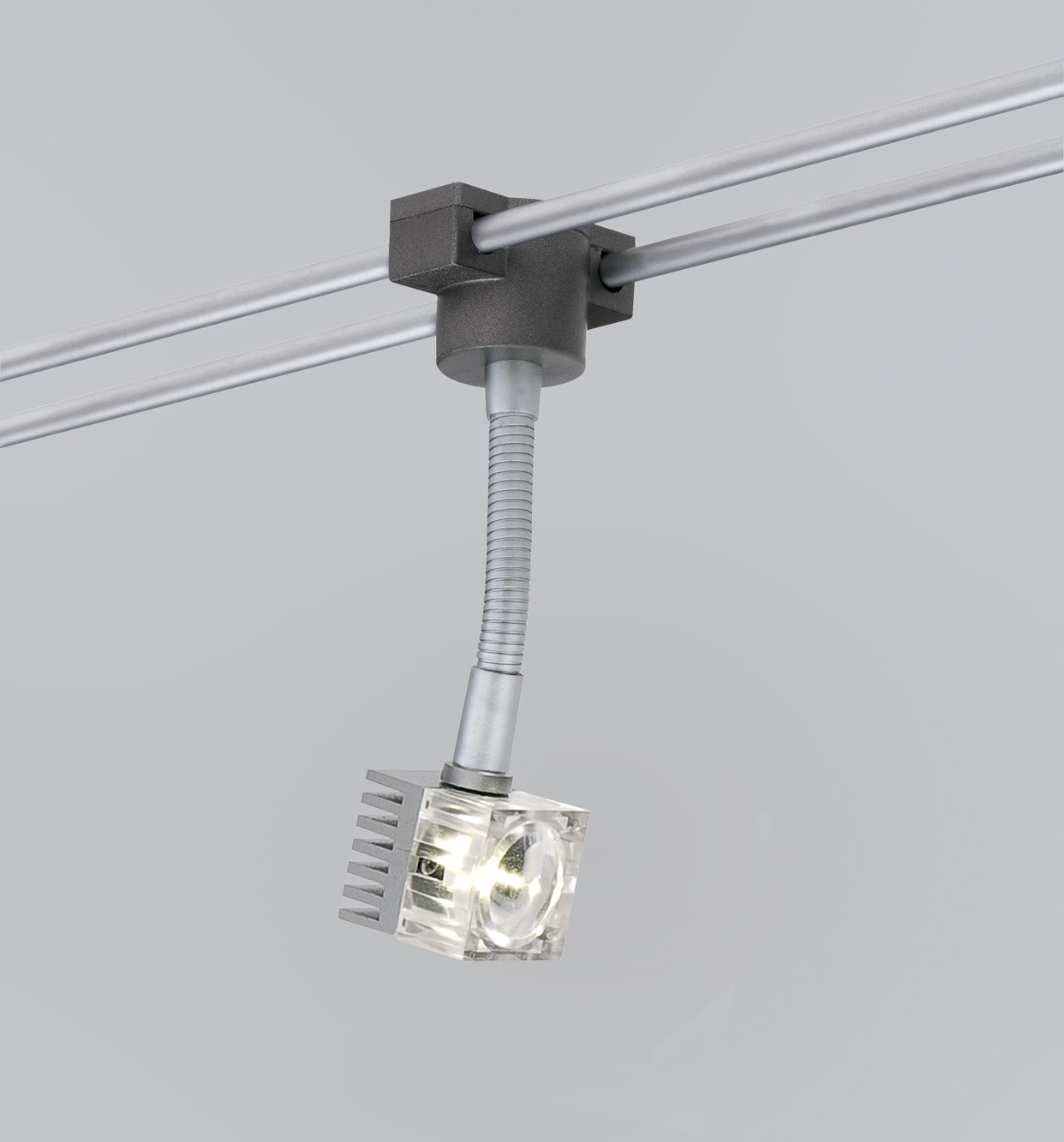 paulmann led rail schienensystem geo q flex chrom matt 5x3w 12v lampe ebay. Black Bedroom Furniture Sets. Home Design Ideas