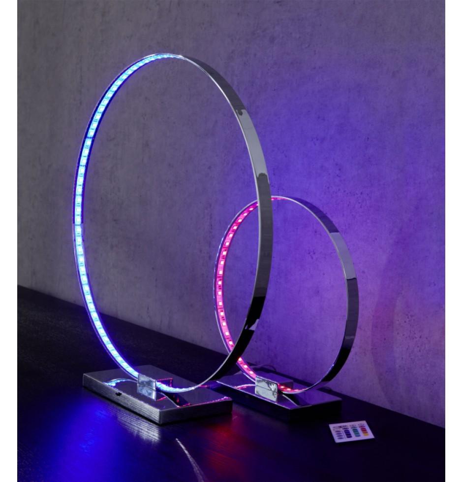 wofi tischleuchte 1 flammig cosmo 1x led 18 w breite 12 cm h he 50 cm 49 cm 360 lumen. Black Bedroom Furniture Sets. Home Design Ideas