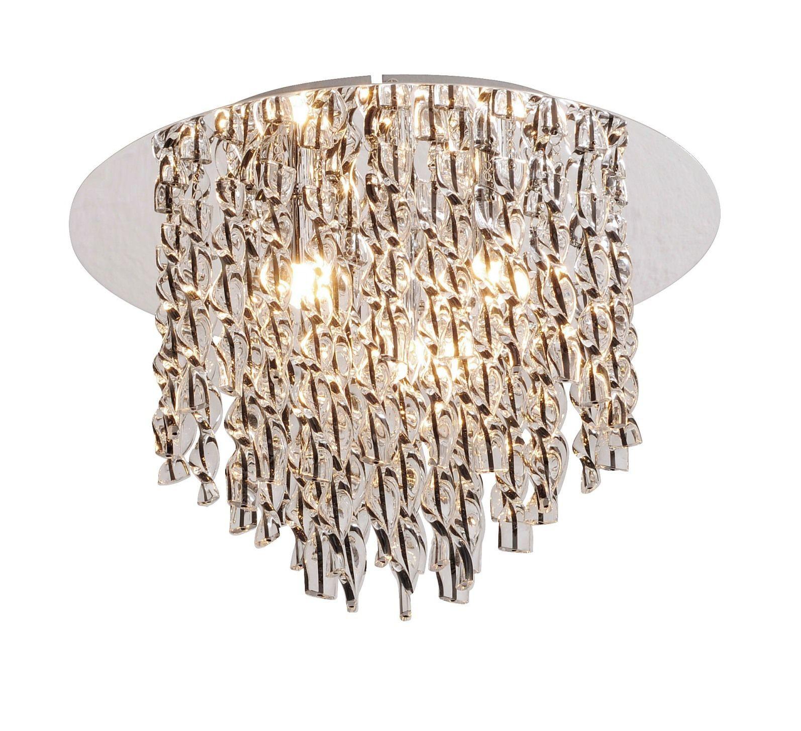 15021 17 kristall deckenleuchte chrom paul neuhaus 4x40w g9 230v leuchten deckenleuchten. Black Bedroom Furniture Sets. Home Design Ideas