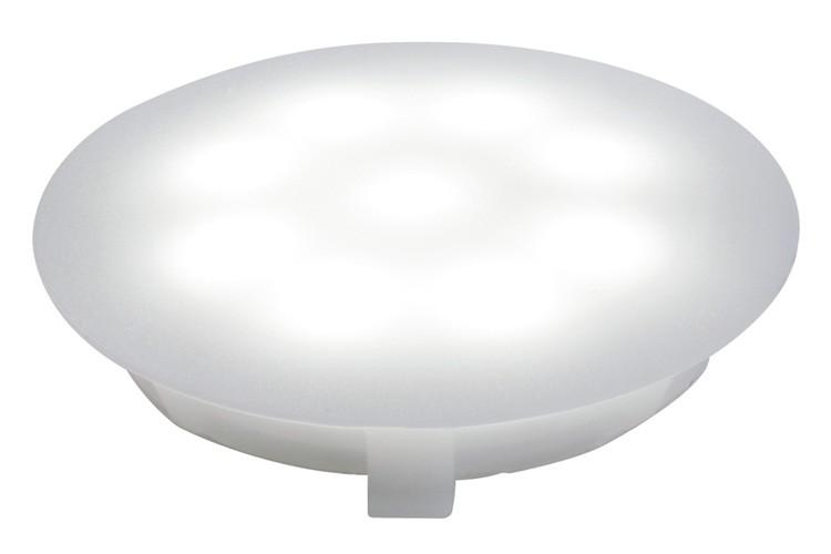 profi ebl updownlight led 1w 12v 45mm satin kunststoff einbauleuchten bodeneinbaueleuchten. Black Bedroom Furniture Sets. Home Design Ideas